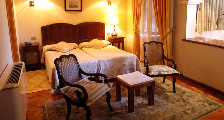 Habitación del Hotel Aranda