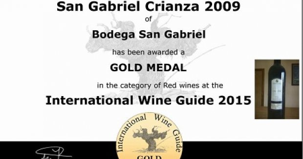 Bodega Ribera del Duero, San Gabriel, Medalla de Oro