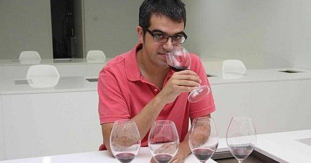 Ferran Centelles, en la Sede de la Ribera del Duero