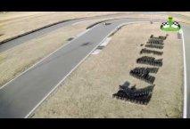 Una vuelta en el circuito de karts del Centro de Ocio Luis Miguel