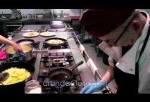 Tapa Restaurante Aitana. Caramelo relleno de Foie
