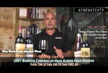 Bodegas Pesquera Wine Dinner with Alejandro Fernandez at Cafe Maxx